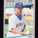 1989 Fleer Baseball #186 Jim Gantner - Milwaukee Brewers
