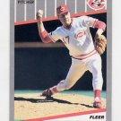 1989 Fleer Baseball #174 Frank Williams - Cincinnati Reds