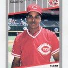 1989 Fleer Baseball #164 Barry Larkin - Cincinnati Reds