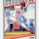 1989 Fleer Baseball #163 Danny Jackson - Cincinnati Reds