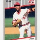 1989 Fleer Baseball #162 John Franco - Cincinnati Reds