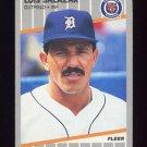 1989 Fleer Baseball #144 Luis Salazar - Detroit Tigers
