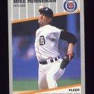 1989 Fleer Baseball #134 Mike Henneman - Detroit Tigers