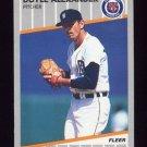 1989 Fleer Baseball #128 Doyle Alexander - Detroit Tigers