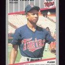 1989 Fleer Baseball #126 Fred Toliver - Minnesota Twins