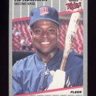 1989 Fleer Baseball #122 Al Newman - Minnesota Twins