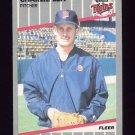 1989 Fleer Baseball #119 Charlie Lea - Minnesota Twins