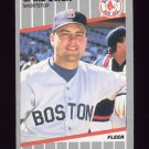1989 Fleer Baseball #093 Spike Owen - Boston Red Sox