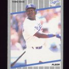 1989 Fleer Baseball #072 Mike Sharperson - Los Angeles Dodgers