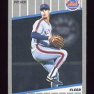 1989 Fleer Baseball #051 Dave West RC - New York Mets