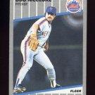 1989 Fleer Baseball #042 Bob McClure - New York Mets