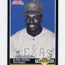 1991 Score Baseball #859 Ruben Sierra FRAN - Texas Rangers