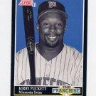 1991 Score Baseball #855 Kirby Puckett FRAN - Minnesota Twins