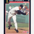 1991 Score Baseball #848 Larry Andersen - Boston Red Sox