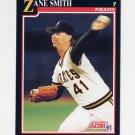 1991 Score Baseball #845 Zane Smith - Pittsburgh Pirates