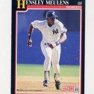1991 Score Baseball #828 Hensley Meulens - New York Yankees