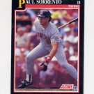 1991 Score Baseball #796 Paul Sorrento - Minnesota Twins