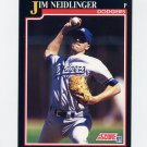 1991 Score Baseball #794 Jim Neidlinger RC - Los Angeles Dodgers