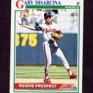 1991 Score Baseball #768 Gary DiSarcina - California Angels