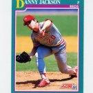 1991 Score Baseball #601 Danny Jackson - Cincinnati Reds