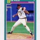 1991 Score Baseball #599 Bob Walk - Pittsburgh Pirates