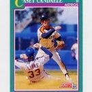 1991 Score Baseball #577 Casey Candaele - Houston Astros