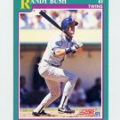 1991 Score Baseball #574 Randy Bush - Minnesota Twins