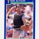 1991 Score Baseball #548 Terry Kennedy - San Francisco Giants