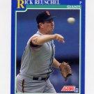 1991 Score Baseball #544 Rick Reuschel - San Francisco Giants