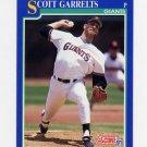 1991 Score Baseball #541 Scott Garrelts - San Francisco Giants