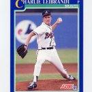 1991 Score Baseball #536 Charlie Leibrandt - Atlanta Braves