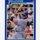 1991 Score Baseball #532 Jim Gantner - Milwaukee Brewers