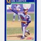 1991 Score Baseball #518 Mark Gardiner - Montreal Expos