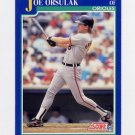 1991 Score Baseball #508 Joe Orsulak - Baltimore Orioles
