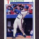 1991 Score Baseball #439 Tom O'Malley - New York Mets