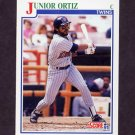1991 Score Baseball #438 Junior Ortiz - Minnesota Twins