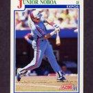 1991 Score Baseball #423 Junior Noboa - Montreal Expos