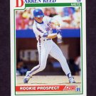 1991 Score Baseball #368 Darren Reed - New York Mets NM-M
