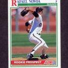 1991 Score Baseball #366 Rafael Novoa RC - San Francisco Giants