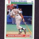 1991 Score Baseball #335 Thomas Howard - San Diego Padres
