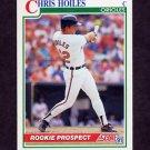 1991 Score Baseball #334 Chris Hoiles - Baltimore Orioles
