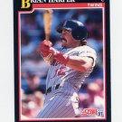 1991 Score Baseball #312 Brian Harper - Minnesota Twins