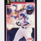 1991 Score Baseball #310 Eddie Murray - Los Angeles Dodgers ExMt