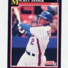 1991 Score Baseball #307 Mackey Sasser - New York Mets