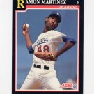 1991 Score Baseball #300 Ramon Martinez - Los Angeles Dodgers