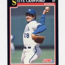 1991 Score Baseball #287 Steve Crawford - Kansas City Royals