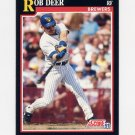 1991 Score Baseball #248 Rob Deer - Milwaukee Brewers