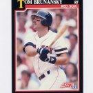 1991 Score Baseball #245 Tom Brunansky - Boston Red Sox NM-M