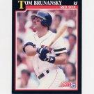 1991 Score Baseball #245 Tom Brunansky - Boston Red Sox ExMt