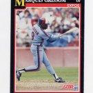 1991 Score Baseball #234 Marquis Grissom - Montreal Expos